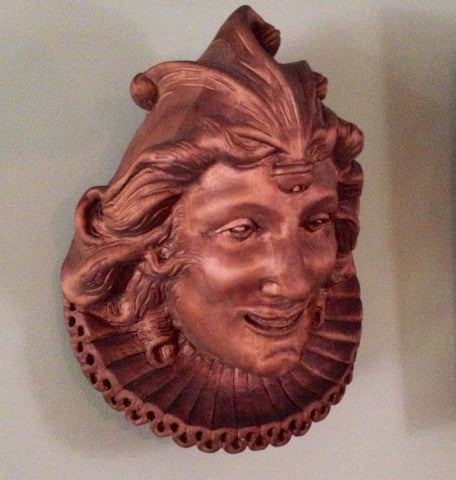 Wood-Carved Jester