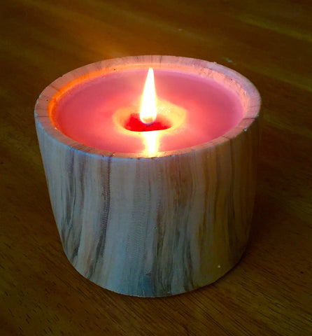 Soothe Candle - Large Wood Grain - Pumpkin Souffle Scent