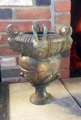 Solid Bronze Urn