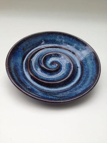 Hand-Thrown Ceramic Soap Dish