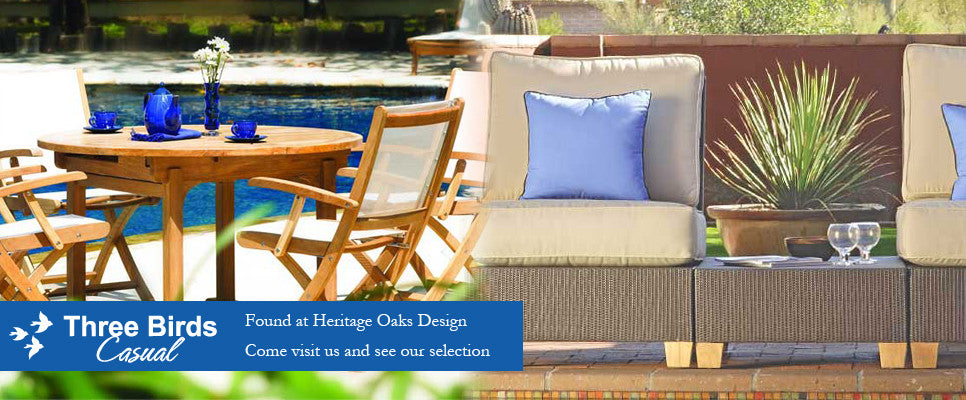 Three Birds Casual @ Heritage Oaks Design