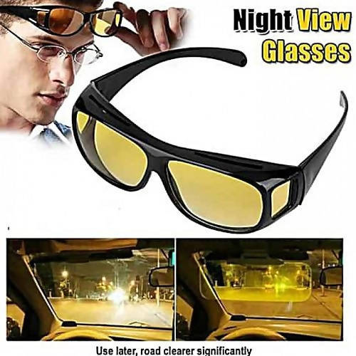 2 in1 HD Vision Anti Glare Night & Day View Driving Glasses – esellhub