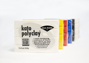 Load image into Gallery viewer, 12.5 OZ KATO POLYCLAY™ BAR |  OVEN-HARDENING POLYMER CLAY | VARIOUS COLORS