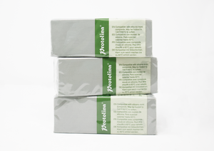 2 LB GRAY-GREEN PROTOLINA™ | NON-HARDENING MODELING CLAY FOR PROTOTYPING | VARIOUS STYLES