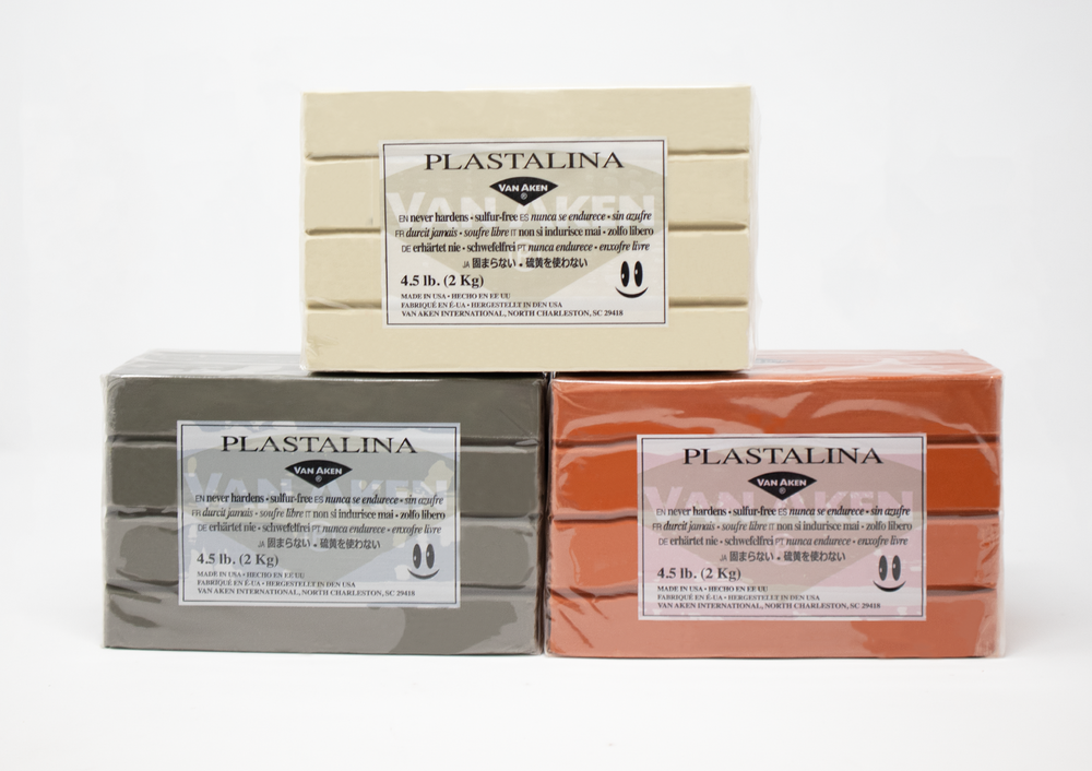 4.5 LB PLASTALINA™ |  NON-HARDENING MODELING CLAY | VARIOUS COLORS