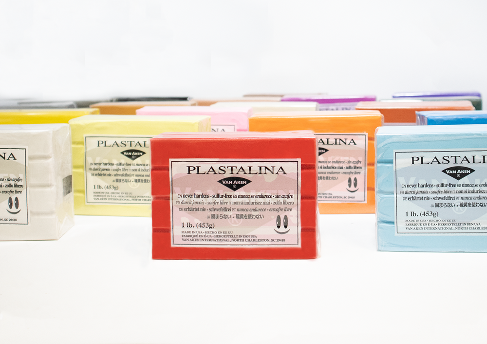 Load image into Gallery viewer, 1 LB PLASTALINA™ |  NON-HARDENING MODELING CLAY | VARIOUS COLORS PLASTALINA™ |  NON-HARDENING MODELING CLAY