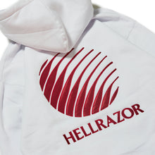 Load image into Gallery viewer, LOGO EMBROIDERED PULL OVER HOODIE - WHITE