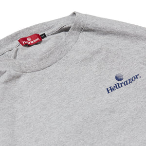 TRADEMARK LOGO L/S SHIRT - GREY