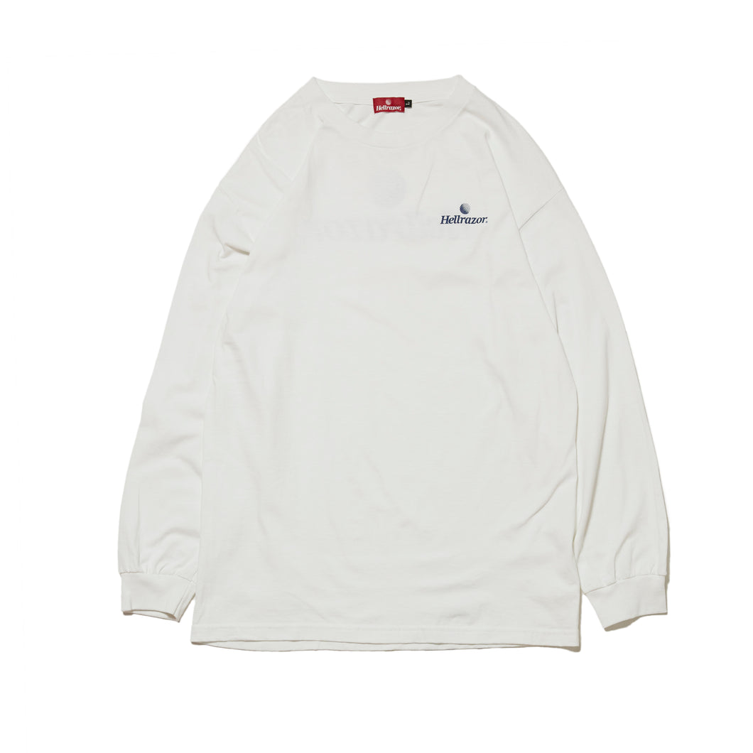 TRADEMARK LOGO L/S SHIRT - WHITE