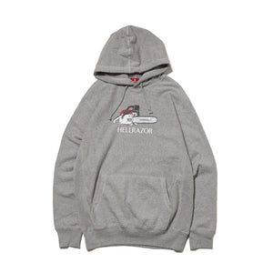 ROMANCE PULL OVER HOODIE - GREY