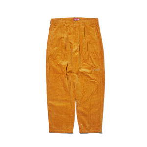 UNDER GROUND FORCES CORDUROY PANTS - YELLOW