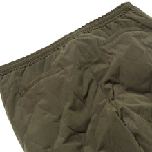 Load image into Gallery viewer, WAVE QUILTED PANTS - ARMY GREEN