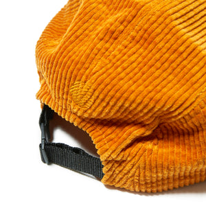 UNDER GROUND FORCES CORDUROY CAMP CAP - YELLOW