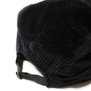 UNDER GROUND FORCES CORDUROY CAMP CAP - BLACK