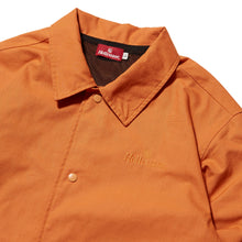 Load image into Gallery viewer, TRADEMARK RIPSTOP COACH JACKET - ORANGE