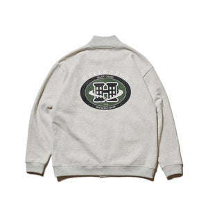 CITY SQUAD SNAP JACKET - GREY