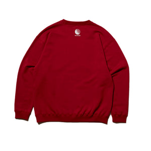 HELLSENT CREW SWEAT - BURGUNDY