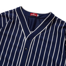 Load image into Gallery viewer, SUCKS MESH BASEBALL SHIRT - NAVY