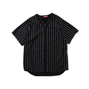 SUCKS MESH BASEBALL SHIRT - BLACK