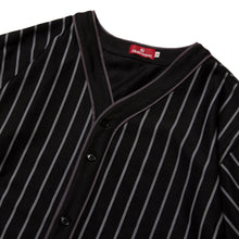 Load image into Gallery viewer, SUCKS MESH BASEBALL SHIRT - BLACK