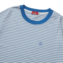 Load image into Gallery viewer, h STRIPED SHIRT - BLUE