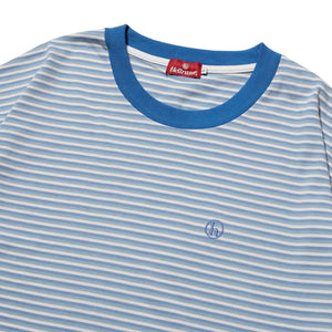 h STRIPED SHIRT - BLUE