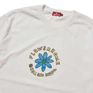 FLOWER HOME SHIRT - WHITE