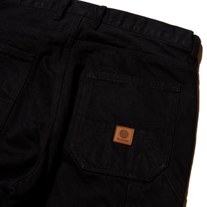 PLATINUM PAINTER DENIM PANTS - BLACK DENIM
