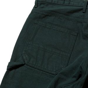 PLATINUM PAINTER DENIM PANTS - GREEN DENIM