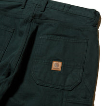 Load image into Gallery viewer, PLATINUM PAINTER DENIM PANTS - GREEN DENIM