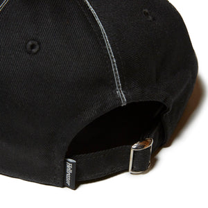 SUCKS PIPING 6PANEL CAP - BLACK