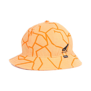 DINO PIQUE BELL HAT - ORANGE