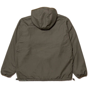 FLAME REVERSIBLE FLEECE NYLON JACKET - GREEN