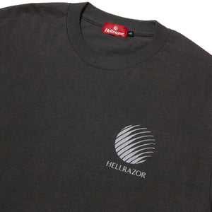 LOGO S/S SHIRT - CHARCOAL GREY