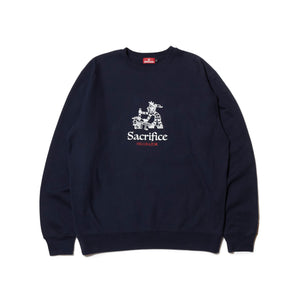 SACRIFICE CREW NECK - NAVY