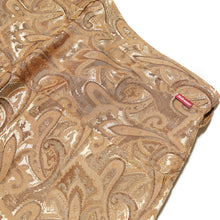 Load image into Gallery viewer, JACQUARD TROUSERS - CARAMEL PAISLEY
