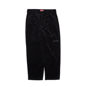 CORDUROY PANTS - BLACK