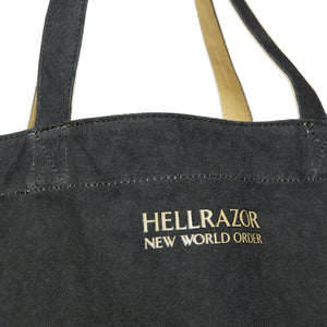REVERSIBLE TOTE BACK - BLACK & TUMBLEWEED