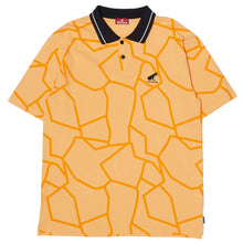 Load image into Gallery viewer, DINO PIQUE POLO SHIRT - ORANGE