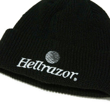 Load image into Gallery viewer, TRADEMARK CUFF KNIT CAP - BLACK