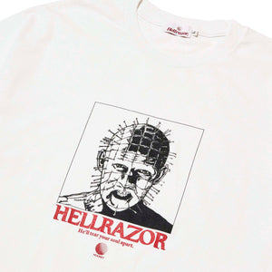 HELLRAZOR x MOONEY NY TEE - WHITE