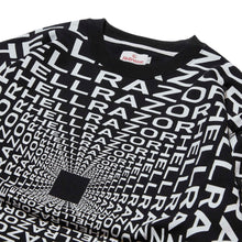 画像をギャラリービューアに読み込む, HELLRAZOR x DOWN NORTH CAMP GRAVITATE CREW NECK - BLACK