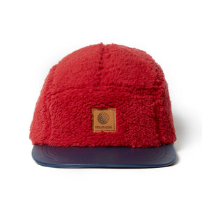 HELLRAZOR x DOWN NORTH CAMP DONALD & MUCK CAMP CAP - RED