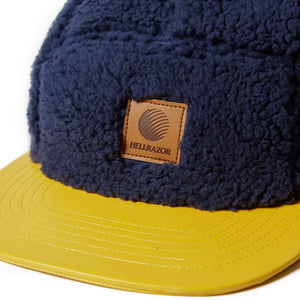 HELLRAZOR x DOWN NORTH CAMP DONALD & MUCK CAMP CAP - NAVY