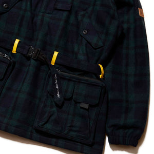 HELLRAZOR x DOWN NORTH CAMP BLACKWATCH M65 PULLOVER JACKET - BLACKWATCH