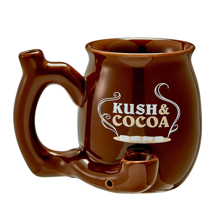 Ceramic Kush and Cocoa Mug Pipe