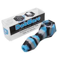 Silicone Pipe Dabware Platinum Diamond