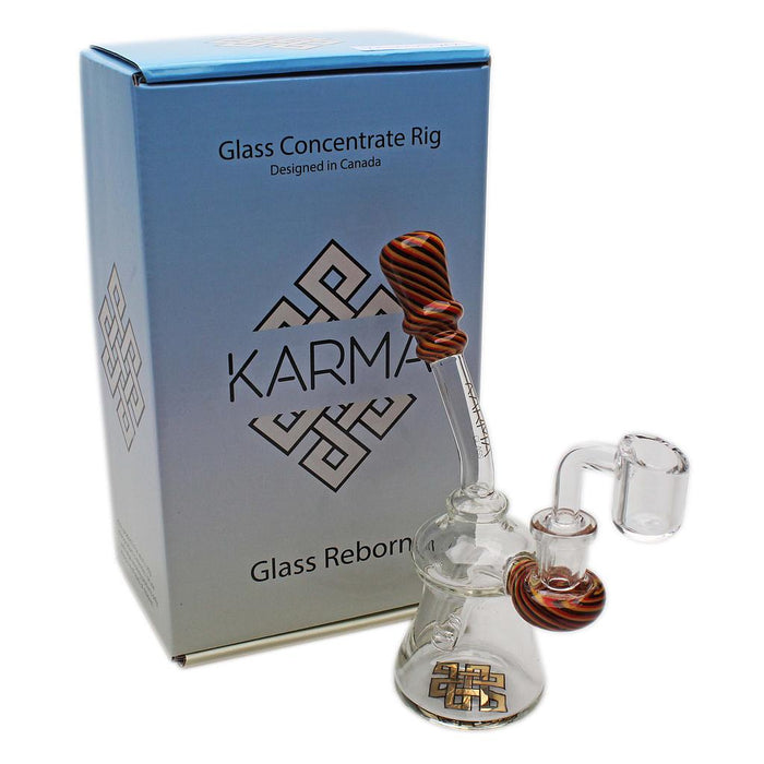 Glass Rig Karma Bent Neck Reversal With Banger