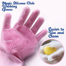 Charger l'image dans la galerie, Magic Silicone Dish Washing Gloves