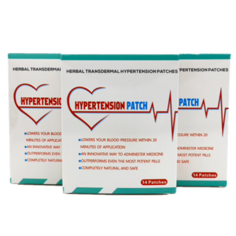 Hypertension Control Patch